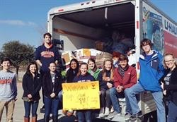 Frisco ISD Helps Tornado Victims