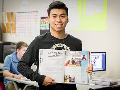 FHS Student Wins National Yearbook Honor